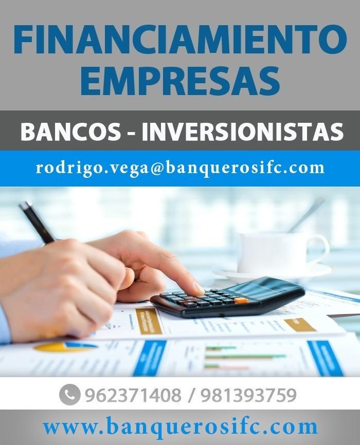 Banqueros IFC - Financiamiento Empresas, Reestructuraciones , Largo y Corto Plazo
