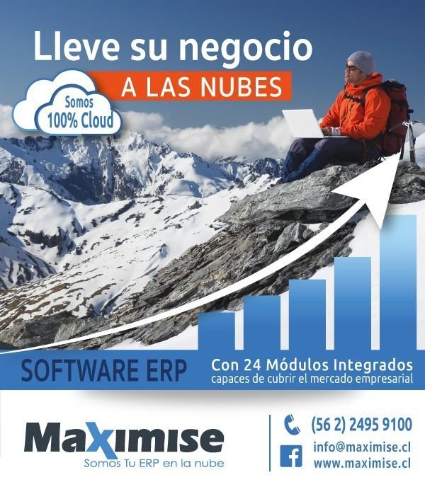 Maximise, Software ERP, 100% Cloud - La F�rmula del Exito para su Empresa, ERP Maximise