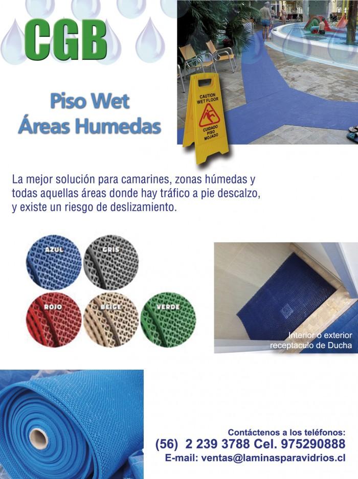 Comercial CGB - Piso Wet, Zonas Humedas, AntiHongos, AntiDeslizante